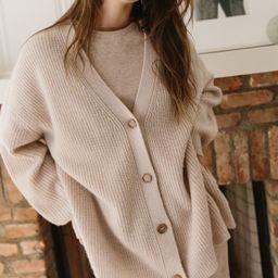 Cashmere Cocoon Cardigan - Oatmeal | Jenni Kayne | Jenni Kayne