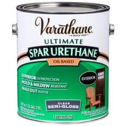 Varathane 1 gal. Clear Semi-Gloss Oil-Based Exterior Spar Urethane-9431 - The Home Depot | The Home Depot