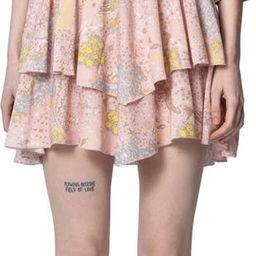 Rooka Print Minidress | Nordstrom