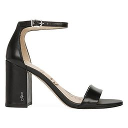 Daniella Ankle-Strap Leather Sandals | Saks Fifth Avenue