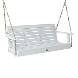 highwood® Eco-Friendly Recycled Plastic Weatherly Porch Swing, 4' | Walmart (US)