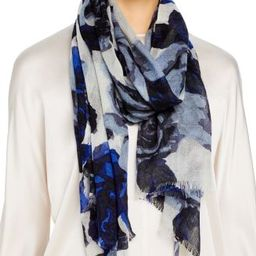 Floral Print Wool Scarf - 100% Exclusive | Bloomingdale's (US)