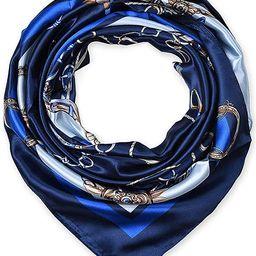 Corciova Square Stain Silk Like Hair Wrapping Scarves Night Sleeping Head Scarf | Amazon (US)