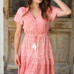 Ilda -  Imani Mini Dress | Salty Crush