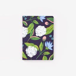 Navy Hydrangeas Mini Notebook | Emily Ley Paper, Inc.
