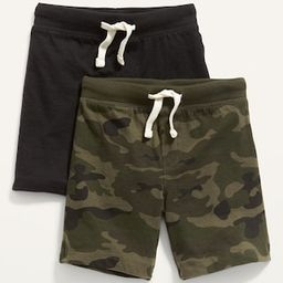 Unisex Jersey-Knit Jogger Shorts 2-Pack for Toddler   Old Navy (US)