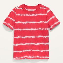 Vintage Short-Sleeve Tie-Dye Tee for Toddler Boys   Old Navy (US)