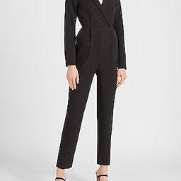 Long Sleeve Blazer Jumpsuit | Express