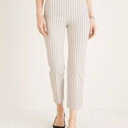 Brigitte Striped Straight-Leg Crops   Chico's