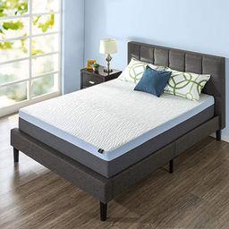 ZINUS 13 Inch Green Tea Pressure Relief Gel Memory Foam Mattress/Cooling Mattress/Zoned Airflow D... | Amazon (US)