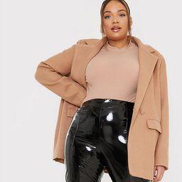 In The Style Plus x Lorna Luxe vinyl legging in black   ASOS (Global)