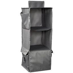 Honey-Can-Do 3 Shelf Hanging Closet Organizer | QVC