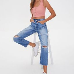 Distressed Mom Jeans | Forever 21 (US)