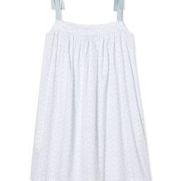 JB x LAKE Day Dress in Blue Trellis | LAKE Pajamas