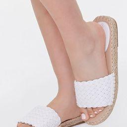 Basketwoven Espadrille Sandals | Forever 21 (US)