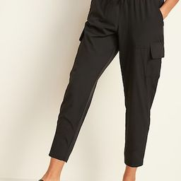 High-Waisted StretchTech Cargo Ankle Pants for Women | Old Navy (US)