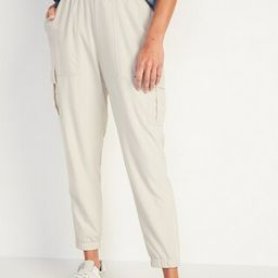 High-Waisted StretchTech Mesh-Lined Jogger Cargo Pants for Women | Old Navy (US)