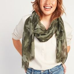 Lightweight Gauze Scarf for Women | Old Navy (US)