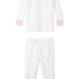 JB x LAKE Baby Long-Long Set in Garden Bloom | LAKE Pajamas