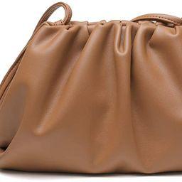 Dumpling Bag, HORSE&TIGER Cloud Crossbody Bags for Women Simple Clutch Purse with Dumpling Shape ... | Amazon (US)