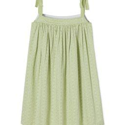 JB x LAKE Day Dress in Green Trellis | LAKE Pajamas