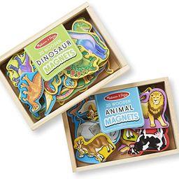 Melissa & Doug Magnetic Animals & Dinosaurs Bundle | Amazon (US)