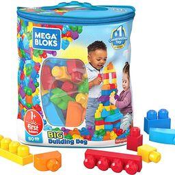 Mega Bloks First Builders Big Building Bag with Big Building Blocks, Building Toys for Toddlers (... | Amazon (US)