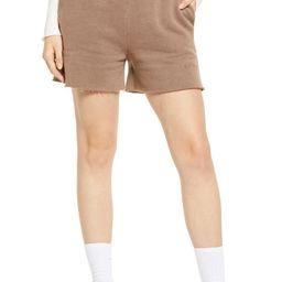 Cotton Blend Jogger Shorts | Nordstrom
