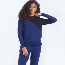 The Softest French Terry Pullover - Baltic & Sea Urchin | SummerSalt