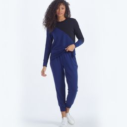 The Softest French Terry Jogger - Baltic | SummerSalt