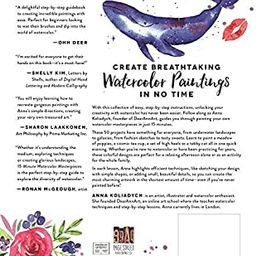 15-Minute Watercolor Masterpieces: Create Frame-Worthy Art in Just a Few Simple Steps | Amazon (US)