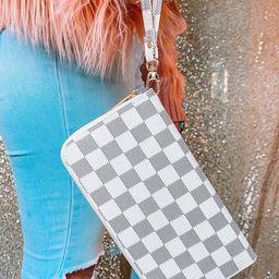 Checkered RDIF Wallet | Etsy (US)
