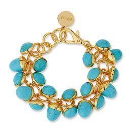 NEST Jewelry Turquoise Charm Bracelet | Neiman Marcus