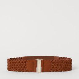 Braided Waist Belt | H&M (US)