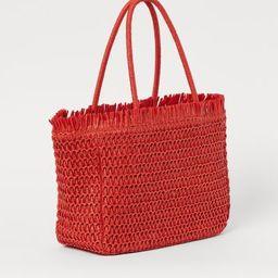 Paper Straw Shopper | H&M (US)