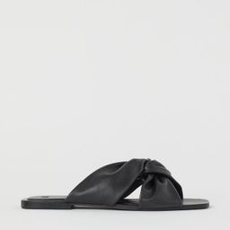 Leather Slides | H&M (US)