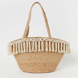 Tasseled Beach Bag | H&M (US)