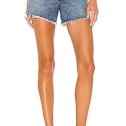 AGOLDE Reese Short in Precision from Revolve.com | Revolve Clothing (Global)