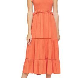 Brightside Tiered Midi Dress | Nordstrom