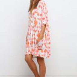 Keats Dress - Orange | Petal & Pup (US)
