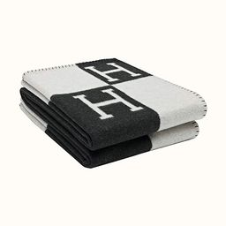 Blanket is Used for Sofa H Bed and Living Room Home Decoration Super Luxury Black White | Amazon (US)