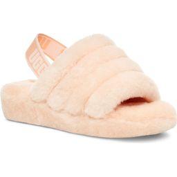 Fluff Yeah Genuine Shearling Slingback Sandal | Nordstrom