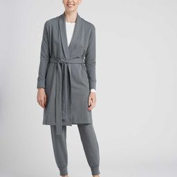 Rachele Lounge Robe - Sage   Universal Standard