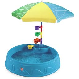 Step2 Play & Shade Pool for Toddlers | Plastic Kids Outdoor Pool, Multicolor | Walmart (US)
