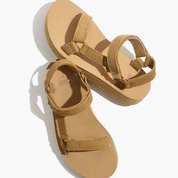 Teva® Leather Midform Universal Sandals   Madewell