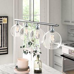 Anchondo 4 - Light Kitchen Island Linear Pendant | Wayfair North America