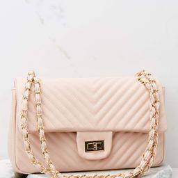 Fashion Babe Light Pink Bag | Red Dress