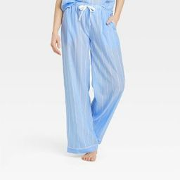 Women's Striped Simply Cool Pajama Pants - Stars Above™ Blue   Target