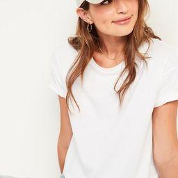 Loose Short-Sleeve Crop Tee for Women   Old Navy (US)