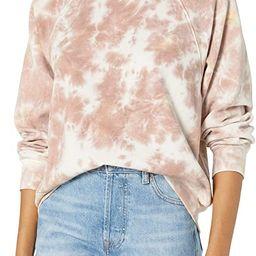 The Drop Women's Caroline Raglan Long-Sleeve Fleece Sweatshirt | Amazon (US)